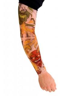 Tattoo ärmel Heavy Metal bunt