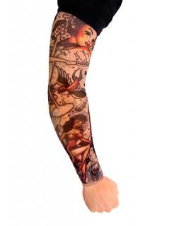 Tattoo-ärmel Rockabilly bunt
