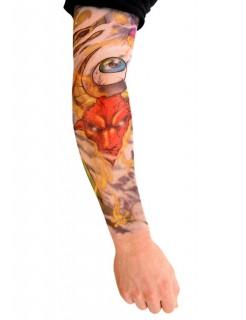 Tattoo ärmel Hard Rocker bunt