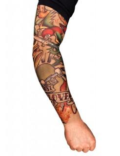 Tattoo ärmel Skater bunt