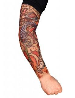 Tattoo ärmel Player bunt