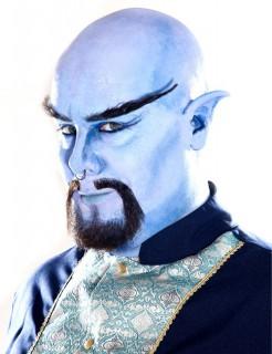 Dschinn Ohren Wunschgeist Kostümzubehör blau
