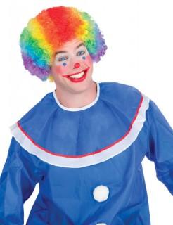 Clown Karneval Fasching Perücke bunt