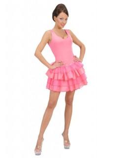 Mehrlagiger Petticoat, pink