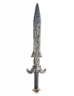 Mystisches Schwert grau-gold 86cm
