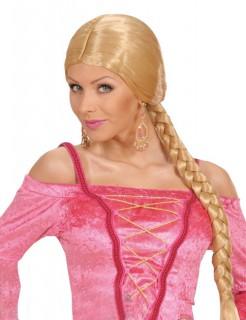 Prinzessin Zopfperücke blond