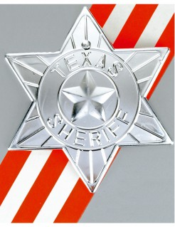 Sheriff-Stern silber