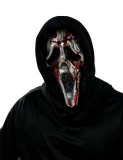 Original Scream Maske Ghost Face schwarz-silber