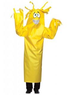 Wacky Wiggler lustiges Monster Kostüm gelb