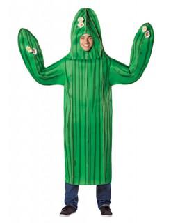 Kaktus Kostüm grün-schwarz