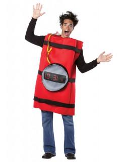 Dynamitstange Kostüm TNT rot-schwarz