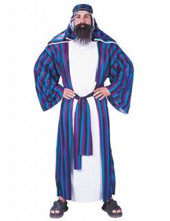 Scheich Kostüm blau-lila-weiss