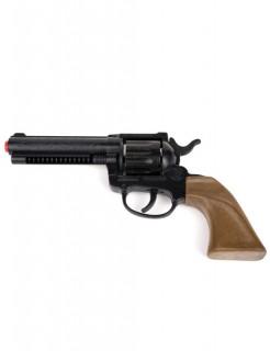Cowboy Pistole 22cm schwarz