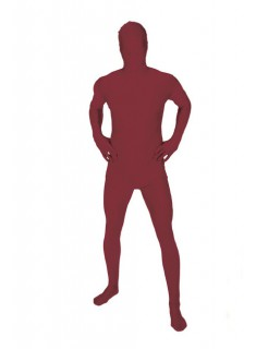 Morphsuit Ganzkörperanzug Kostüm rotbraun