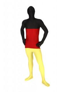 Deutschland™-Morphsuit Ganzkörperanzug schwarz-rot-gelb