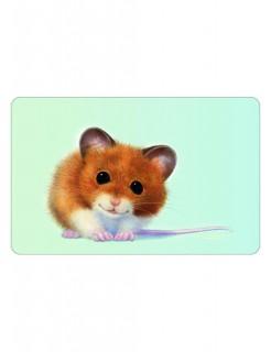 Schneidebrettchen Maus bunt 23,5x14,5