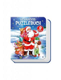 Weihnachts-Puzzlebuch Geschenkidee bunt