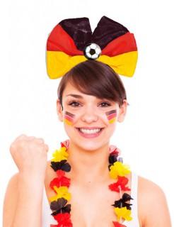 Fussball Tiara Deutschland schwarz-rot-gelb