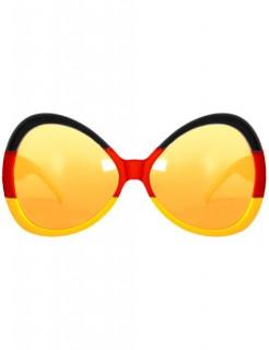Deutschland Brille Fussball-Fanartikel schwarz-rot-gelb