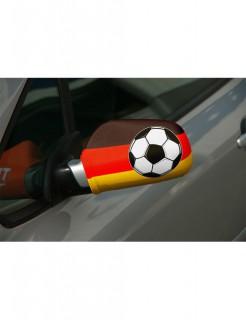 Autospiegel-überzug Deutschland-Flagge Fussball-Fanartikel 2 Stück schwarz-rot-gelb