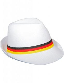 Deutschland Trilby Hut Fussball-Fanartikel weiss-bunt