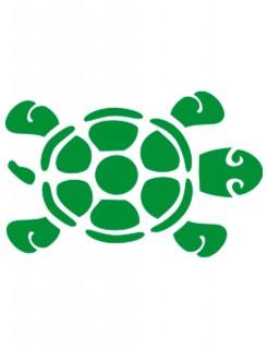 Selbstklebe Schablone Schildkröte Make-Up Zubehör transparent