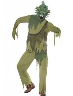 Seeungeheuer Monster Halloween Kostüm grün