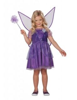 Fee Elfe Märchen Kinderkostüm violett