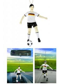 Nationalspieler Autodeko Fußball Fanartikel schwarz-weiss