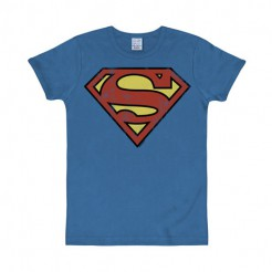 Superman-Shirt Slim Fit T-Shirt Lizenzartikel blau-rot-gelb