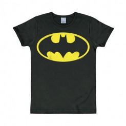 Batman T-Shirt Slim fit schwarz-gelb