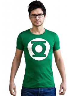 Green Lantern™-T-Shirt DC™ Slim Fit grün-weiss