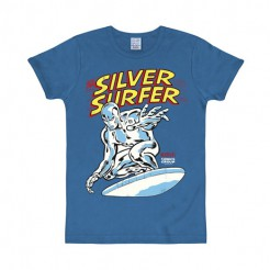 Silver Surfer-T-Shirt Marvel™ blau