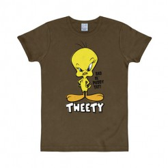 Tweety T-Shirt Slim Fit Looney Tunes bunt