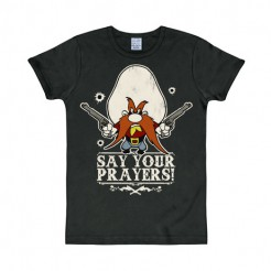 Looney Tunes™ T-Shirt Say Your Prayers Fanshirt schwarz-bunt