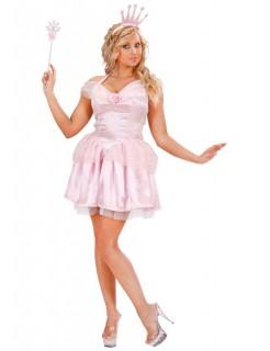 Märchen-Prinzessin Damenkostüm Fee rosa