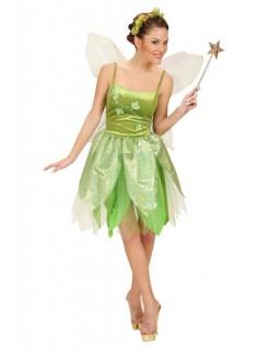 Wald Fee Damenkostüm Elfe grün