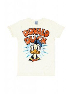 Donald Duck Disney™ T-Shirt Slimfit weiss-bunt