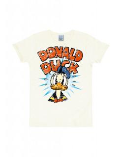 Donald Duck Disney™ T-Shirt Slimfit weiss-bunt