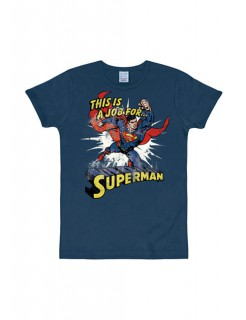 Superman-T-Shirt DC™ Slimfit navy-bunt