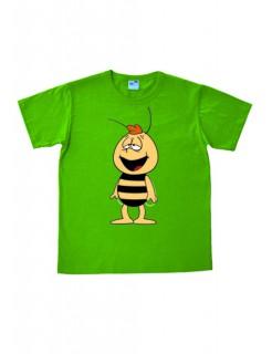 Willi-T-Shirt Biene Maja Easy Fit grün-gelb-schwarz