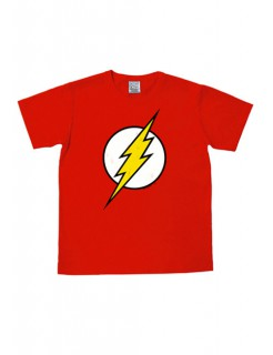 The Flash™-Logoshirt DC™ Lizenzshirt Easy Fit rot-weiss-gelb