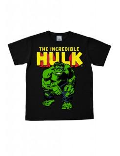 Marvel T-Shirt Hulk Easy Fit Fanshirt schwarz-gelb-grün