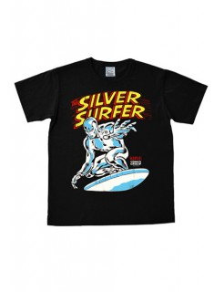 Silver Surfer-T-Shirt Marvel™ schwarz