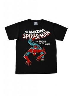 The Amazing Spiderman-T-Shirt Marvel™ Easy Fit schwarz