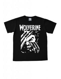 Wolverine-T-Shirt Marvel™ Easy Fit Fanshirt schwarz-weiss