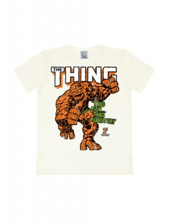 Marvel T-Shirt The Thing Slim Fit Fanshirt weiss-bunt