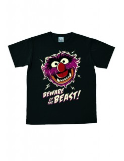 Muppets-T-Shirt Beware of the Beast Easy Fit Fanshirt schwarz- bunt