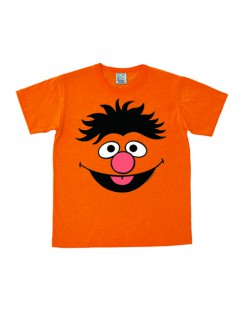 Ernie Fanshirt Sesamstrasse orange