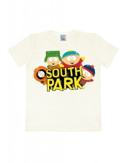 South Park Fan-T-Shirt weiss-bunt